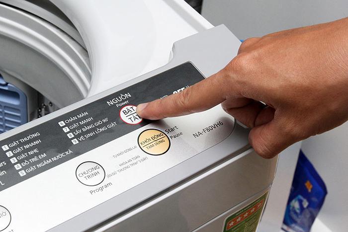 Máy giặt bị chảy nước ra ngoài do vòng đệm nắp ống