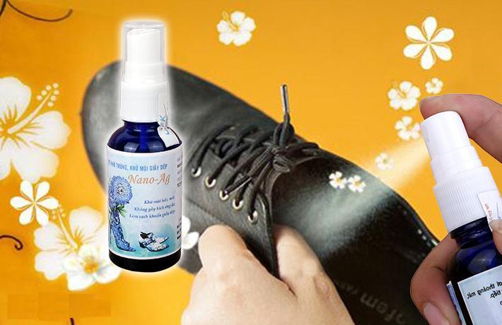 bình xịt khử mùi cho giày