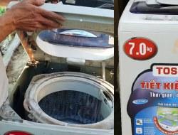 Hướng dẫn cách tháo hộp số máy giặt