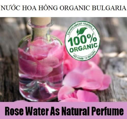 nước hoa hồng organic