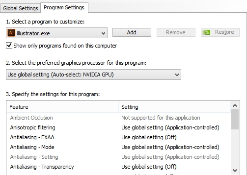 program-setting