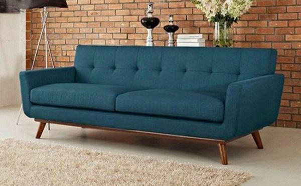 Ghế sofa băng đẹp được thiết kế với nhiều chất liệu đa dạng