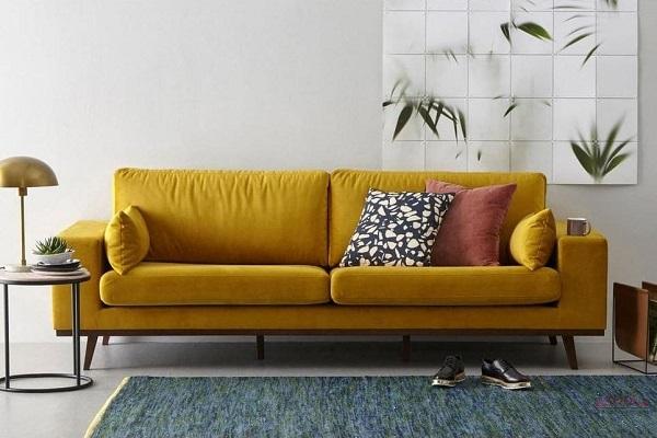 Mẫu ghế sofa văng đẹp giúp không gian nội thất tràn đầy sức sống