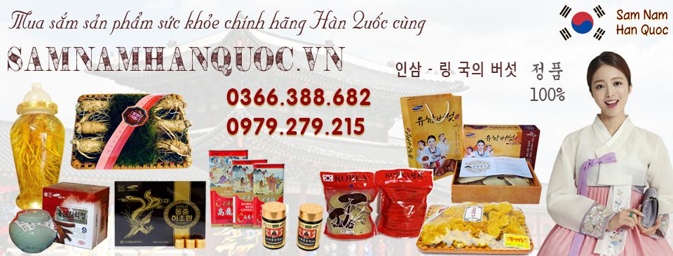 Sâm nấm Hàn Quốc – Thương hiệu vàng trong lĩnh vực sức khỏe