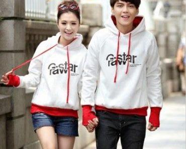 Áo hoodie đôi với thiết kế lạ mắt