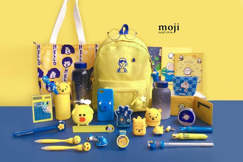 Bộ sưu tập đồ dùng học tập tại Moji