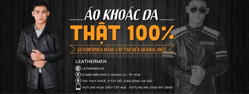 Top 10 shop bán áo khoác da nam cực chất tại TP Hồ Chí Minh.