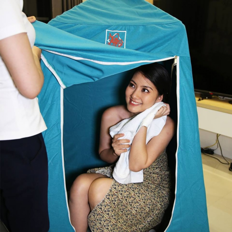 Diễn viên Ngọc Lan chọn dịch vụ Jamu Mommy Center để hồi phục sau sinh con trai đầu lòng.