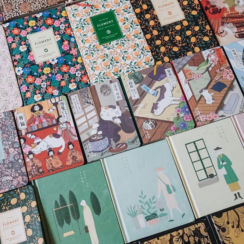 Những cuốn sổ đặc biệt tại Coucou Hibou
