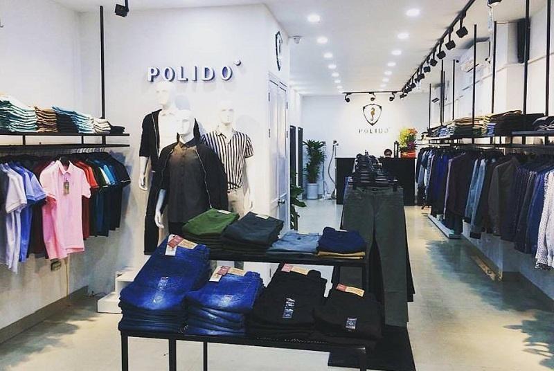 shop bán áo sơ mi nam đẹp ở tphcm - Polido