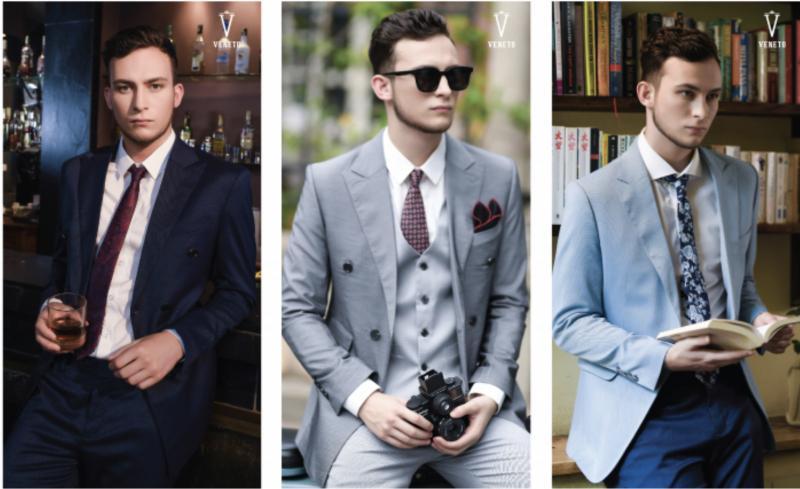 Venesto chủ đích tạo ra những bộ vest mang nét đàn ông, trưởng thành và tinh tế cho người mặc